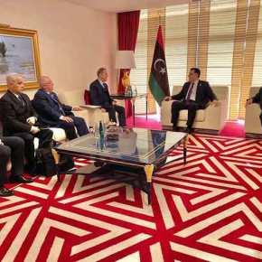 Συναντήθηκαν εκτάκτως Ακάρ-Τσαβούσογλου με Σαράτζ: Ζητάει βοήθεια από την Άγκυρα ηΤρίπολη!