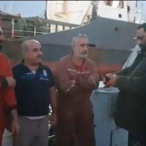 EKTAKTO: Ο LNA κατέσχεσε τουρκικό πλοίο – Ο απόλυτος αιφνιδιασμός – Βίντεο-ντοκουμέντο