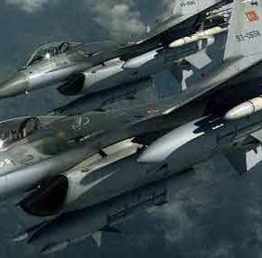 Δεύτερη τουρκική εισβολή μέσα σε λίγες ώρες σε ελληνικό έδαφος: Τουρκικά F-16 πάνω από τηνΡω