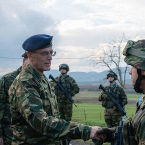 Κοινές δράσεις Στρατού – ΕΛΑΣ στη διαχείριση μεταναστευτικών ροών παρακολούθησε ο ΑρχηγόςΓΕΣ