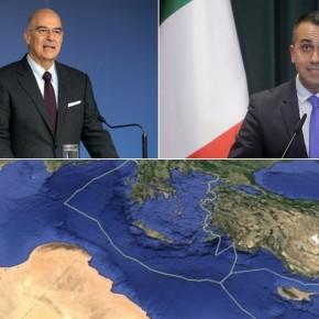 Ελληνο-ιταλικό «τείχος» έναντι των τουρκικών προκλήσεων: Πρόσω ολοταχώς για ανακήρυξη ΑΟΖ με τηνΙταλία