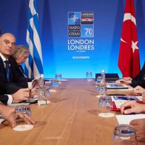 ΝΑΤΟ: Oλοκληρώθηκε η συνάντηση Μητσοτάκη – Ερντογάν – διήρκεσε 1.30 ώρα.