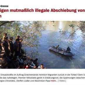 Το Spiegel υιοθετεί την τουρκική προπαγάνδα για τους πρόσφυγες στονΈβρο!