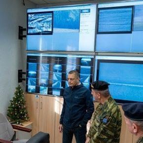 Στο νεοσυσταθέν Ενιαίο Κέντρο Ελέγχου Επιτήρησης Συνόρων ο Στεφανής(ΦΩΤΟ)