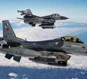 ΞΑΝΑ… Χαμηλές πτήσεις τουρκικών μαχητικών στα Δωδεκάνησα! – Συναγερμός στην Πολεμική Αεροπορία…!!!