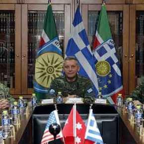 Επίσκεψη Αμερικανού ΑΚΑΜ & ΣΑ στην έδρα της 1ης Στρατιάς/EU-OHQ(ΦΩΤΟ)