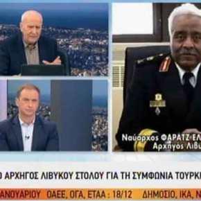 Νέα παρέμβαση του φιλέλληνα Α/ΓΕΝ του LNA: «Φθάνουμε στην Τρίπολη, θα βουλιάξω τουςΤούρκους!»