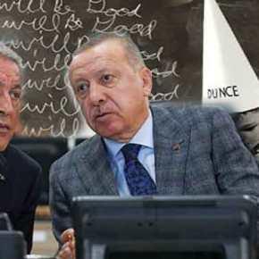 """""""Ακάρ δες τον χάρτη και μάθε γεωγραφία""""! Το επιτελείο Χάφταρ κάνει πλάκα στον ΤούρκοΥΠΑΜ"""