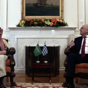 Συνάντηση του Νίκου Δένδια με τον ΥΠΕΞ της Σαουδικής Αραβίας – Στο τραπέζι οι ελληνικοίPatriot
