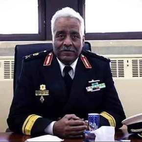 Η ανάρτηση του Αρχηγού Στόλου της Λιβύης σταΕλληνικά
