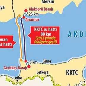 Εξερράγη το «Έργο του Αιώνα»: «Kάζο» για την Άγκυρα – Τρύπησε ο αγωγός που συνδέει την Τουρκία με τακατεχόμενα