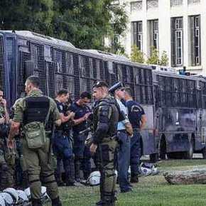 Επίθεση κατά αστυνομικών στην ΑΣΟΕΕ μεκαδρόνια