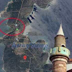Τουρκική προβοκάτσια: Έβαλαν τζαμί στοΦαρμακονήσι