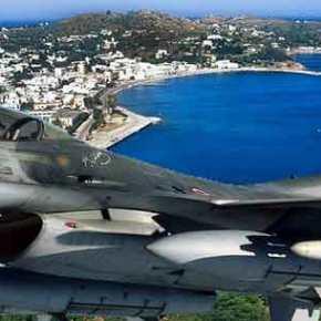 Πρωτοφανής πρόκληση της Τουρκίας – Μαχητικό πέταξε πάνω από τη ναυτική βάση τηςΛέρου!
