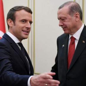 Επίθεση Μακρόν σε Ερντογάν: «Σταμάτα τη ροή τζιχαντιστών από τη Συρία στηΛιβύη»