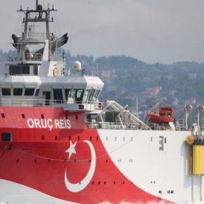"""Επίδειξη δύναμης στην Αν. Μεσόγειο: Η Τουρκία στέλνει πλοία στο """"τριεθνές"""" Ελλάδας-Κύπρου-Αιγύπτου [pic]"""