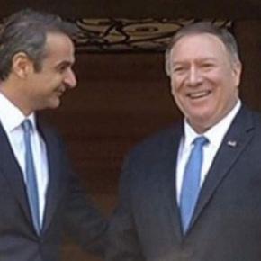 Ενθουσιασμός Πομπέο-Πάιατ για την έγκριση της αμυντικής συμφωνίαςMDCA