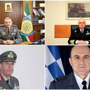 Αυτή είναι η νέα ηγεσία των Ενόπλων Δυνάμεων – Τα βιογραφικά των νέωναρχηγών