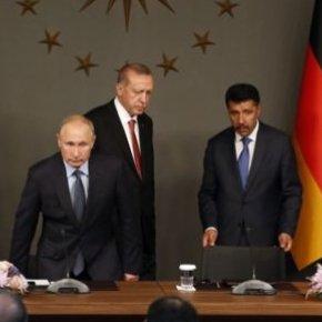 Διάσκεψη του Βερολίνου: Συμφώνησαν σε εκεχειρία και τερματισμό ξένης στρατιωτικήςπαρέμβασης