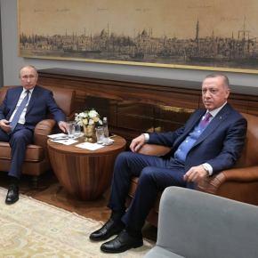 «Ψυχρολουσία» & από Ρωσία: Ο Πούτιν δέχθηκε ως δώρο από τον Ερντογάν το βιβλίο της συμφωνίας Άγκυρας-Τρίπολης – Στη «γωνία» ηΕλλάδα!