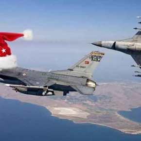 ΠΡΙΝ ΛΙΓΟ… Υπερπτήσεις τουρκικών F-16 πάνω από Οινούσσες καιΠαναγιά