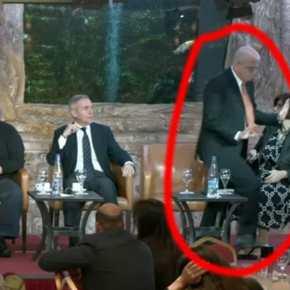 Χαμός στη Σπάρτη! Τα «βρόντηξε» και έφυγε ο πρέσβης του Ισραήλ στην ομιλία για τις Ελληνο-Τουρκικές Σχέσεις(ΒΙΝΤΕΟ)