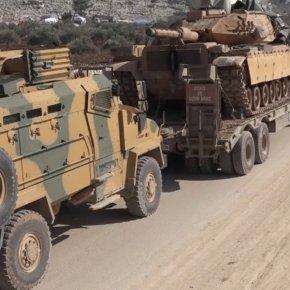 Σε απελπισία η Άγκυρα: Έστειλε 1.000 άρματα μάχης και ΤΟΜΠ στην Ιντλίμπ! – «Καμία ειρήνη με τονΆσσαντ»
