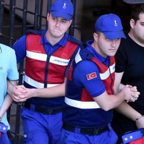 Απύθμενο μίσος: Επέστρεψαν μόνο τις στολές των Μητρετώδη-Κούκλατζη οι Τούρκοι σήμερα – Κράτησαν όπλα &κινητά