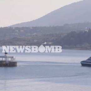 ΑΠΟΚΛΕΙΣΤΙΚΟ ΒΙΝΤΕΟ: Ξεκίνησαν οι επιστροφές μεταναστών με πλοία καιαεροπλάνα