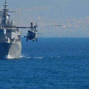 Μήνυμα ετοιμότητας από το Πολεμικό Ναυτικό – Εντυπωσιακές εικόνες από την άσκηση «ΛΟΓΧΗ»[pics]
