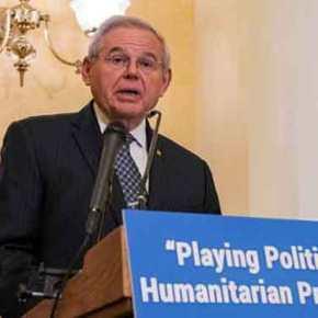Ο γερουσιαστής Μενέντεζ σώζει την τιμή των ΗΠΑ – «Πρόβλημα μόνο ηΤουρκία»