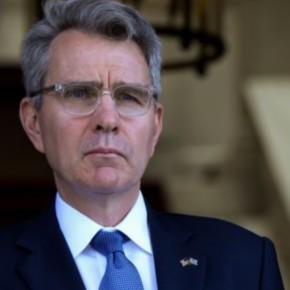 Αμερικανός πρεσβευτής Τζέφρι Πάιατ: «Λύστε διαφορές με Τουρκία με διάλογο» – Περίεργη αναφορά σε «μεγάλανησιά»