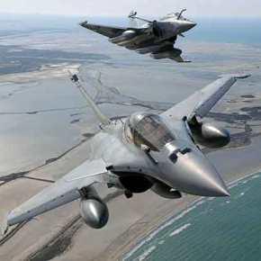 Γαλλικά Rafale «σκέπασαν» την Κύπρο – Το Παρίσι «θωρακίζει» την Α.Μεσόγειο