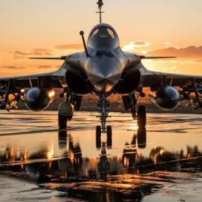 Γαλλικά μαχητικά «σαρώνουν» τους ουρανούς της Κύπρου στην κοινήάσκηση