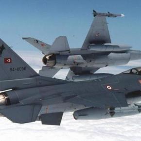 Οπλισμένα τουρκικά μαχητικά ξανά πάνω από ελληνικάνησιά