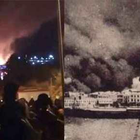 Η Μυτιλήνη μάνα καίγεται… και το Καστελόριζοχάνεται
