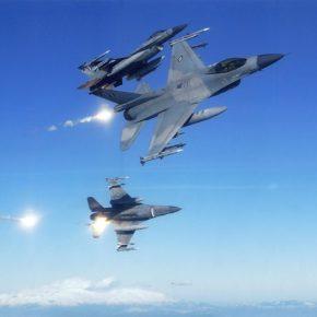 Επάνω από ηπειρωτικό ελληνικό έδαφος τουρκικά F-16 πριν λίγο: Επί 27 λεπτά επάνω από τονΕβρο!