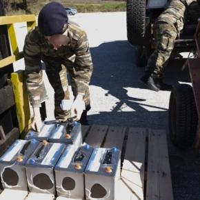 Το Ρεπουμπλικανικό Κόμμα των ΗΠΑ δώρησε υλικά στον ΕλληνικόΣτρατό