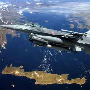 Συνεχίζουν τις προκλήσεις οι Τούρκοι: Υπερπτήσεις με το καλημέρα πάνω από τοΑιγαίο