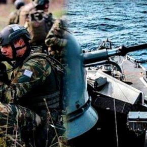 Σε κατάσταση ύψιστου συναγερμού ο στρατός: Ασκήσεις με πραγματικά πυρά από Έβρο μέχρι Καστελλόριζο ως και τηνΤετάρτη