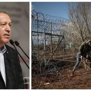 Νέο προκλητικό σόου από τον Ερντογάν: «Ελλάδα, άνοιξε τασύνορα»