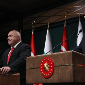 Αήθης επίθεση Ερντογάν στην Ελλάδα, έχοντας δίπλα έναν κάπως περίεργο Βούλγαροπρωθυπουργό…
