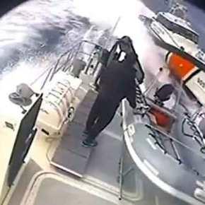 Τουρκική ακταιωρός επιχείρησε να εμβολίσει σκάφους τουΛιμενικού