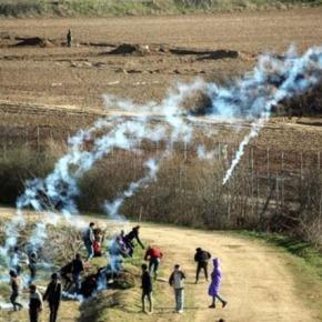 Τούρκοι ρίχνουν δακρυγόνα και καπνογόνα στους Έλληνεςσυνοριοφύλακες