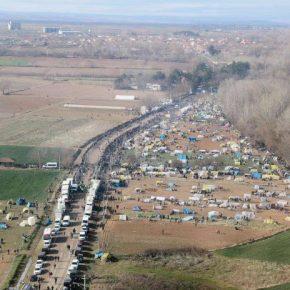Τουρκικός καταυλισμός προσφύγων στον Έβρο αλλά μην ανησυχείτε: Η Γερμανία στέλνει 1 ελικόπτερο και 20αστυνομικούς!