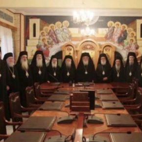 """Ιστορική Απόφαση της Ιεράς Συνόδου… """"Κλειστές"""" και οιΕκκλησίες"""