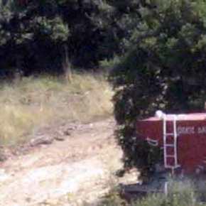Έβρος: Έπιασε «δουλειά» στις Καστανιές το πυροσβεστικό άρμα «ΔΑΥΙΔ»(βίντεο)