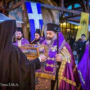 Ι.Μ.Λαγκαδά: Υποδοχή Ιερού Λειψάνου Αγίου Νεκταρίου, ΕπισκόπουΠενταπόλεως