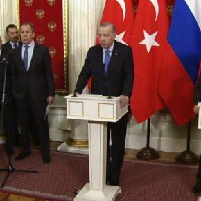 ΕΚΤΑΚΤΟ: Κατάπαυση πυρός στο Ιντλίμπ, με συμφωνία Πούτιν καιΕρντογάν