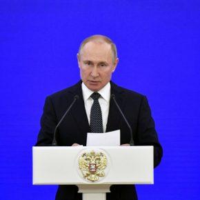 Μήνυμα και από τον Πούτιν για την 25ηΜαρτίου